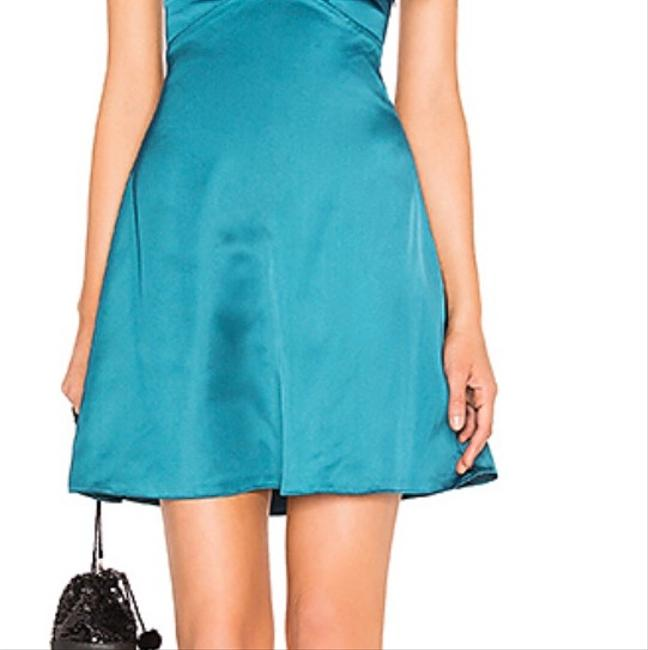 About Us short dress Teal on Tradesy Image 4
