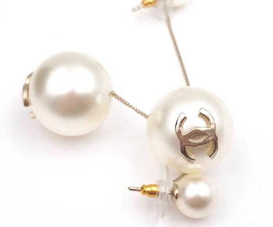 Chanel Chanel Brand New Classic Gumball Faux Pearl Dangle Piercing Earrings Image 5