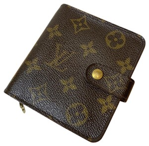 Louis Vuitton Compact Zippy Bifold Wallet with box only