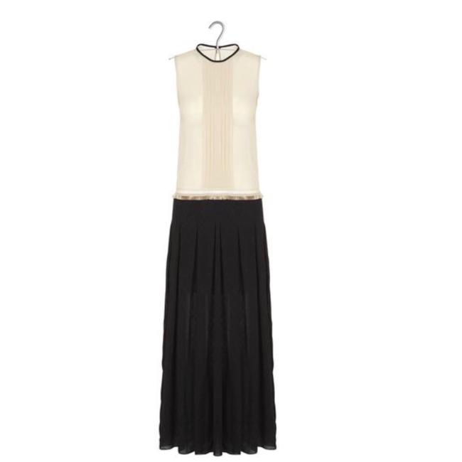 black/cream Maxi Dress by Sandro Image 2