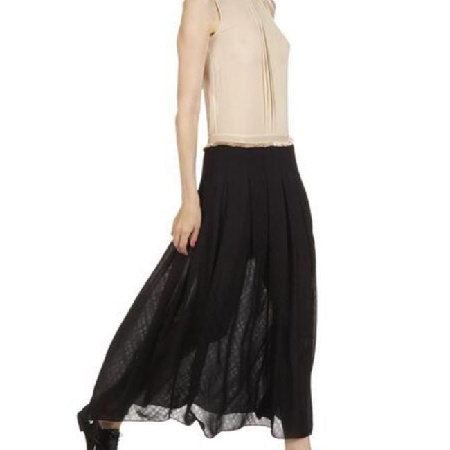 black/cream Maxi Dress by Sandro Image 4