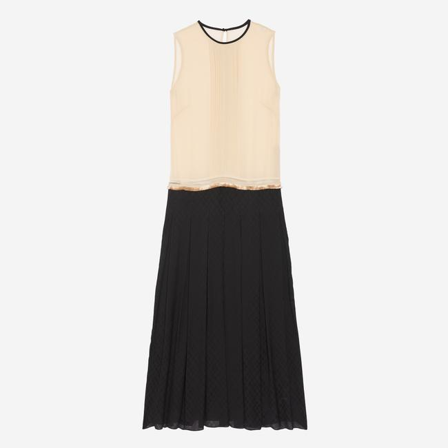 black/cream Maxi Dress by Sandro Image 7