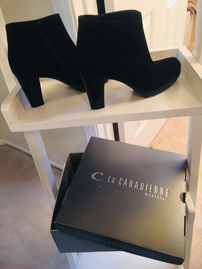 La Canadienne - Malin Collection BRAND NEW!! Black Suede La Canadienne Malin Collection - Weatherproof. Handmade in Canada. Boots Image 3