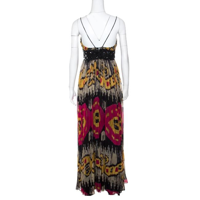 Multicolor Maxi Dress by Marchesa Notte Silk Image 2