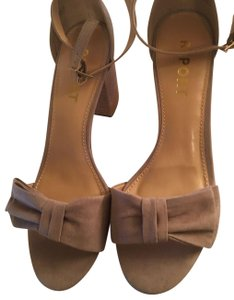 Report Signature - Pearlina Report Pearlina Collection Taupe Suede Sandals