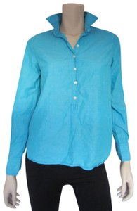 J.Crew Button Down Shirt Aqua