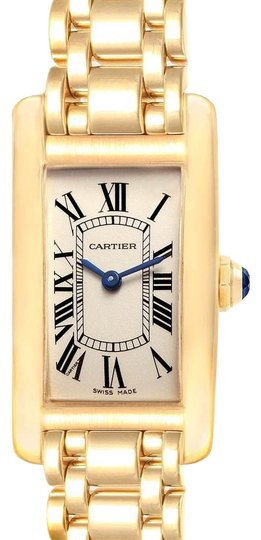 Preload https://img-static.tradesy.com/item/25050732/cartier-silver-tank-americaine-18k-yellow-gold-ladies-w26015k2-watch-0-1-540-540.jpg