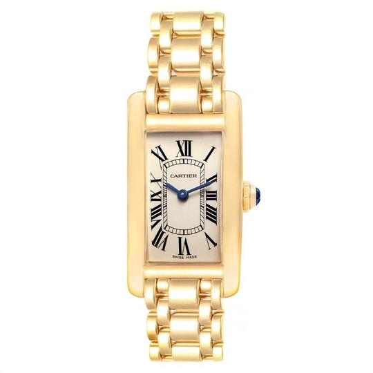 Cartier Cartier Tank Americaine 18K Yellow Gold Ladies Watch W26015K2 Image 1