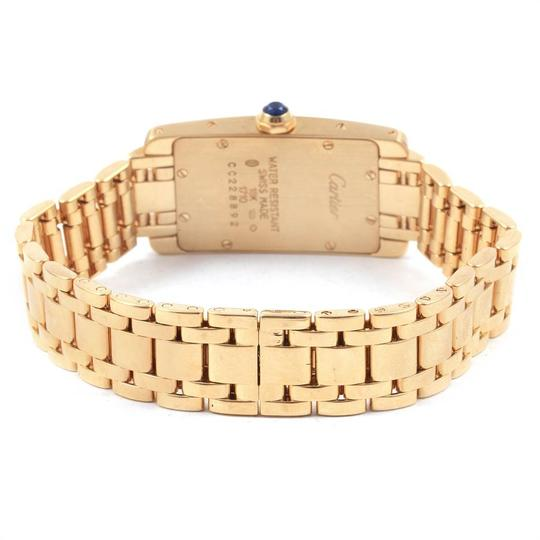 Cartier Cartier Tank Americaine 18K Yellow Gold Ladies Watch W26015K2 Image 6
