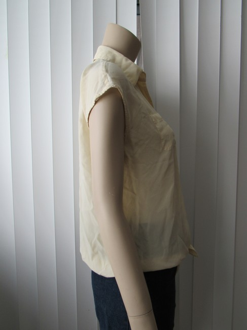 Kenneth Cole Button Down Shirt Butter Image 1