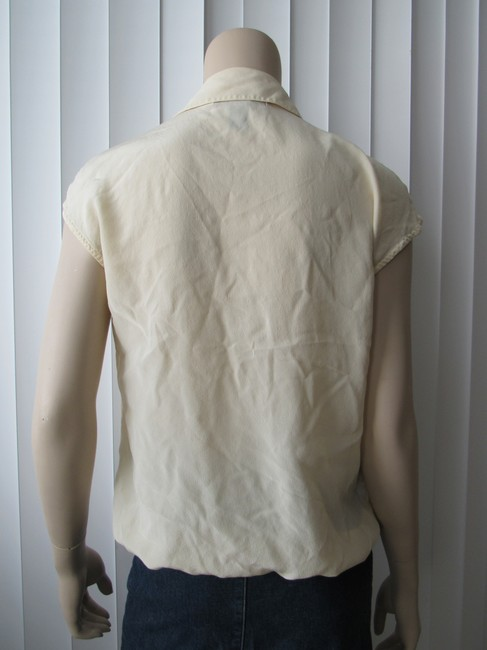 Kenneth Cole Button Down Shirt Butter Image 3