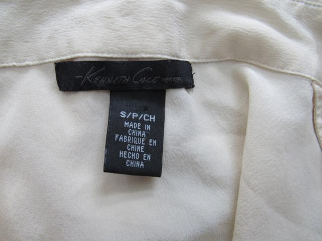 Kenneth Cole Button Down Shirt Butter Image 4