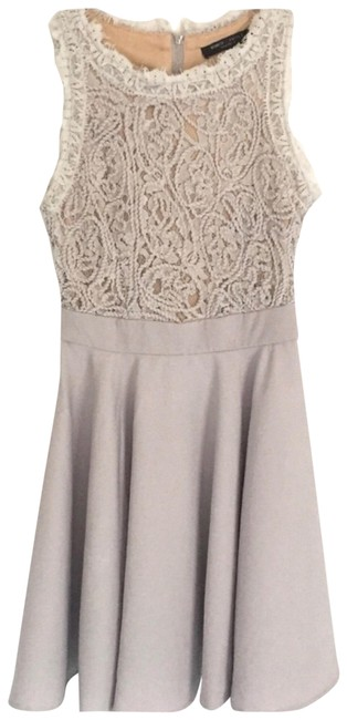 Preload https://img-static.tradesy.com/item/25050798/romeo-and-juliet-couture-gray-beige-rj42331-short-cocktail-dress-size-2-xs-0-2-650-650.jpg