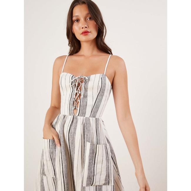 Maxi Dress by Reformation Linen Striped Vacation Image 2