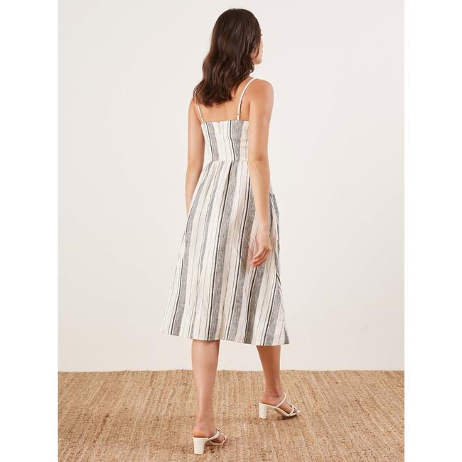 Maxi Dress by Reformation Linen Striped Vacation Image 4