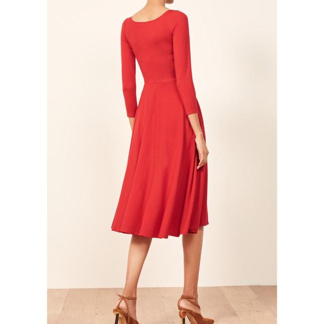 Red Maxi Dress by Reformation Midi Cherry Image 2