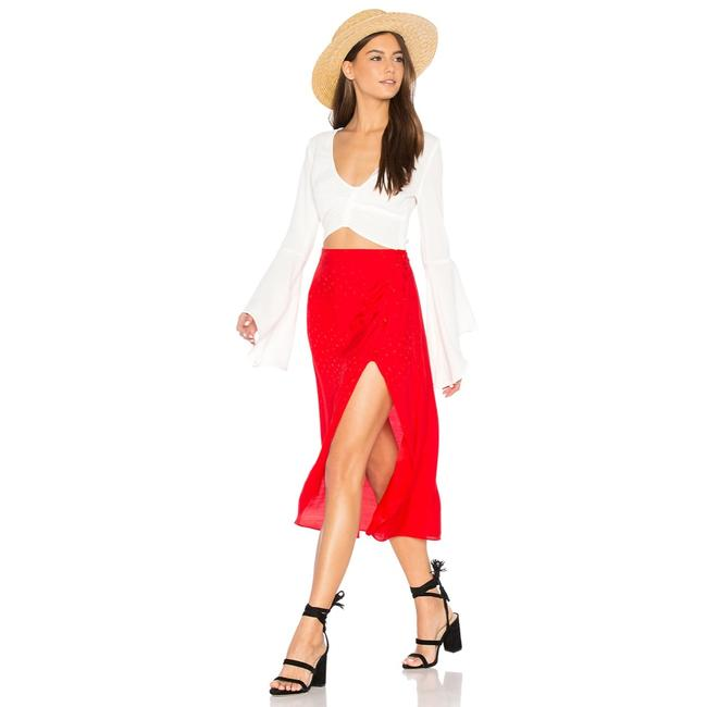 Preload https://img-static.tradesy.com/item/25051113/for-love-and-lemons-red-skirt-size-8-m-29-30-0-0-650-650.jpg
