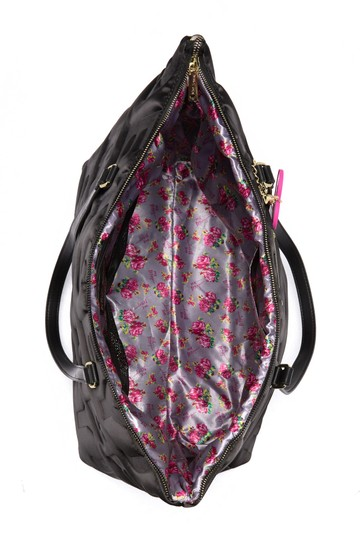 Betsey Johnson Black Travel Bag Image 4