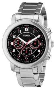Timex Timex Male Milan Watch T2N166 Silver Analog