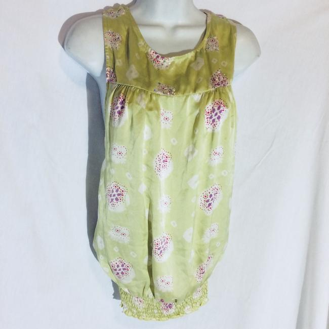 Silk Top Top Pale Green Image 2