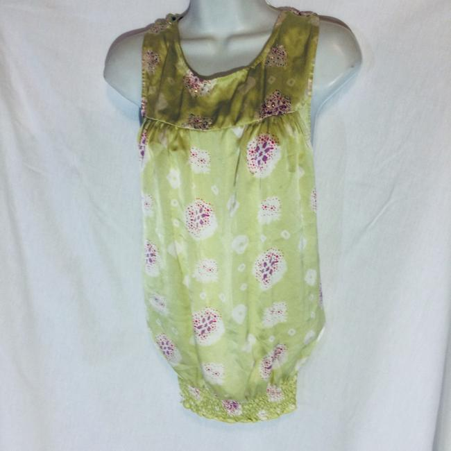 Silk Top Top Pale Green Image 4