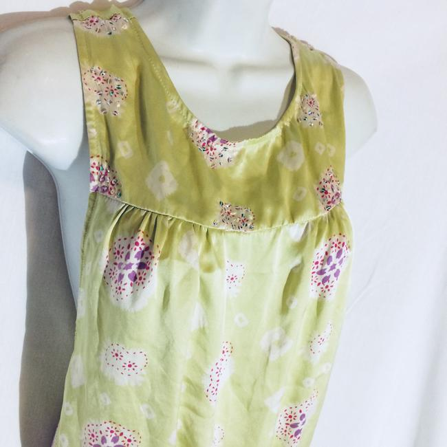 Silk Top Top Pale Green Image 5