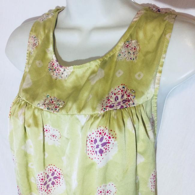 Silk Top Top Pale Green Image 6