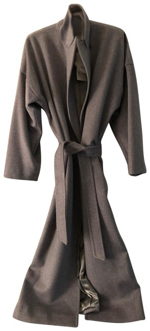 Max Mara Cashmere Wrap Trench Coat Image 0