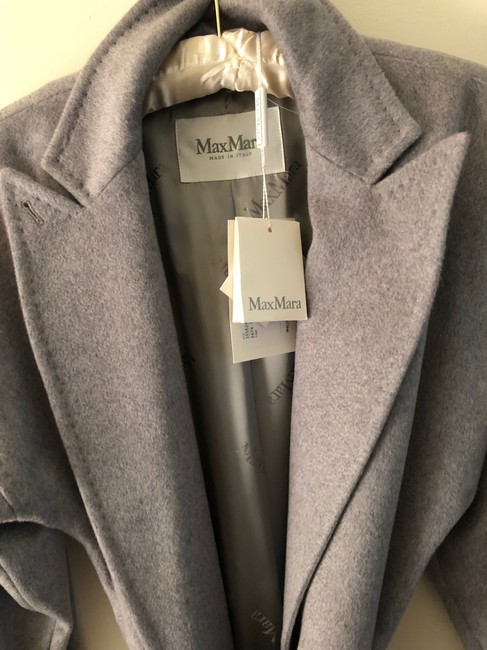 Max Mara Cashmere Wrap Trench Coat Image 5