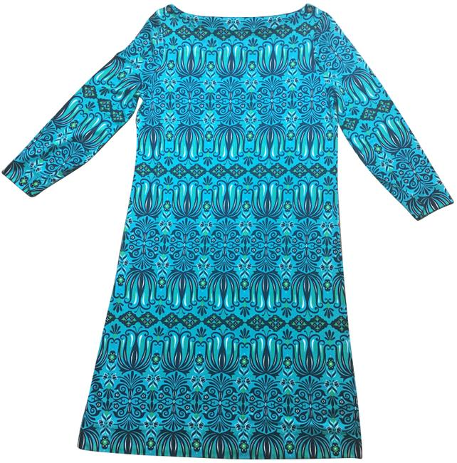 Preload https://img-static.tradesy.com/item/25051340/tory-burch-turquoise-shift-short-workoffice-dress-size-4-s-0-1-650-650.jpg