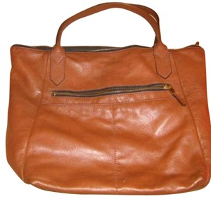Fossil Tote in Medium Brown