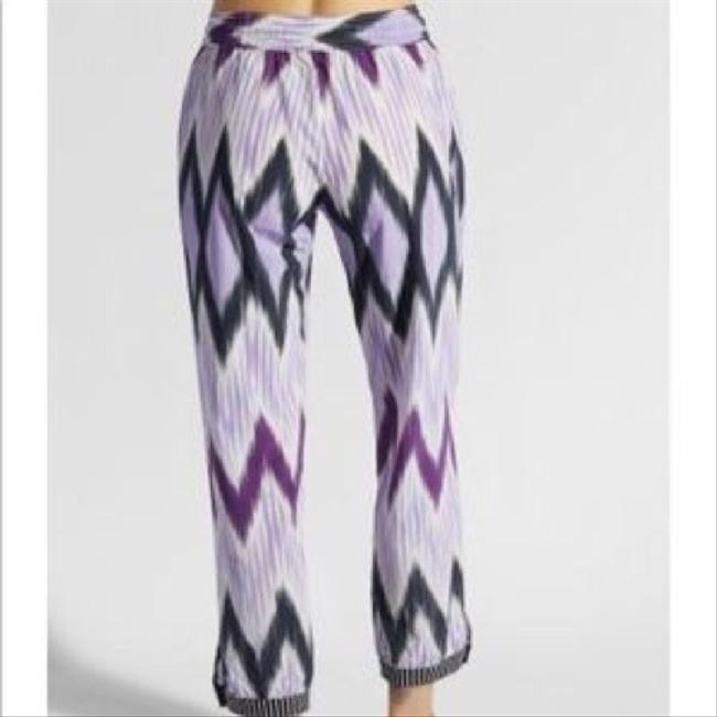 Calypso St. Barth Trouser Pants purple/black Image 1