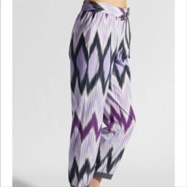 Calypso St. Barth Trouser Pants purple/black Image 2