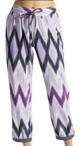 Calypso St. Barth Trouser Pants purple/black