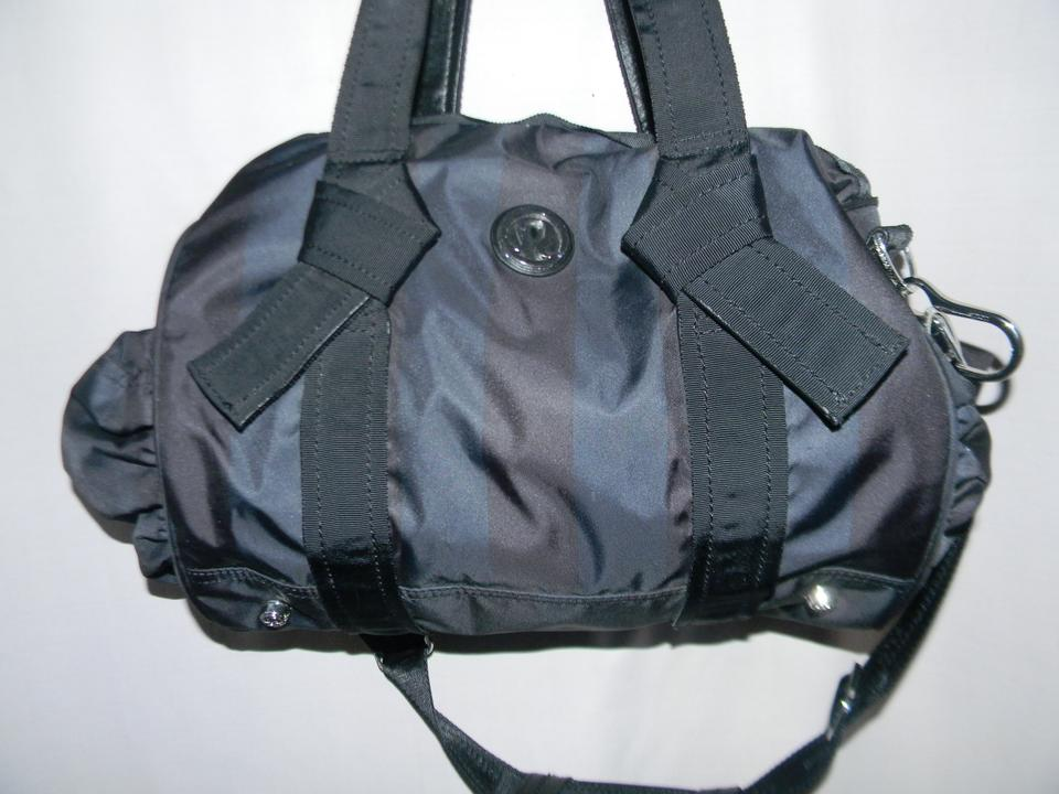 d62b478d4b Lululemon Command The Day Duffel Black Nylon Tote - Tradesy