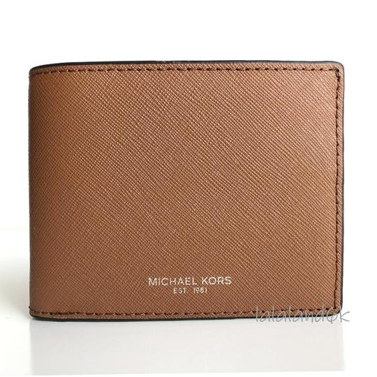 Preload https://img-static.tradesy.com/item/25051758/michael-kors-luggage-brown-saffiano-leather-slim-bifold-wallet-men-s-jewelryaccessory-0-0-540-540.jpg
