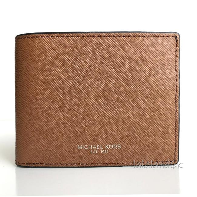 Item - Luggage Brown Saffiano Leather Slim Bifold Wallet Men's Jewelry/Accessory