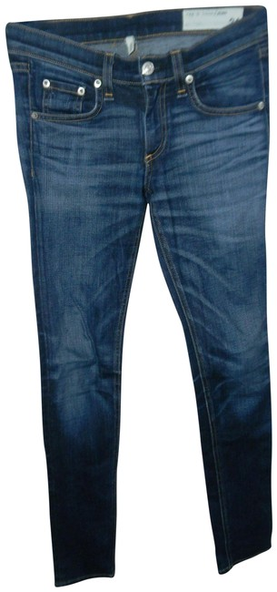 Item - Light Wash Doheny Indigo Skinny Jeans Size 24 (0, XS)