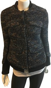 Thakoon Boucle Jacket Chanel Jacket Tweed Jacket Black Blazer