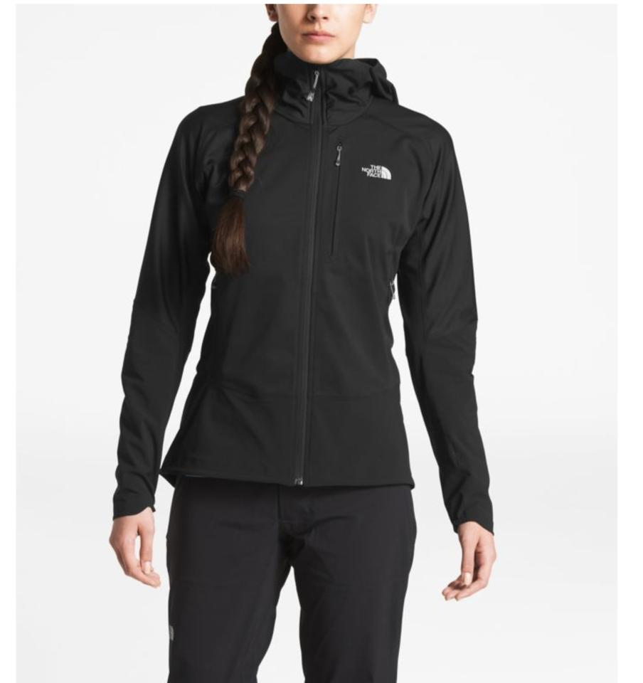 84a2eb166 The North Face Black Women's Summit L4 Windstopper® Soft Shell Hoodie  Activewear Outerwear Size 4 (S) 52% off retail