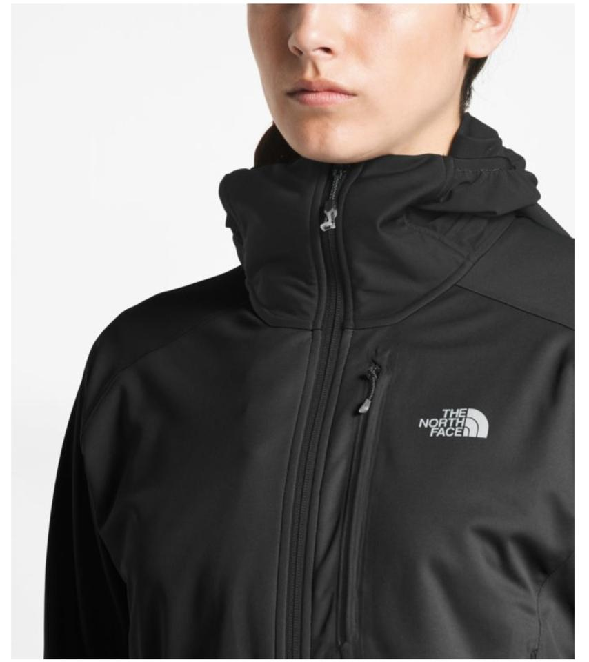 50dacebba The North Face Black Women's Summit L4 Windstopper® Soft Shell Hoodie  Activewear Outerwear Size 4 (S) 52% off retail