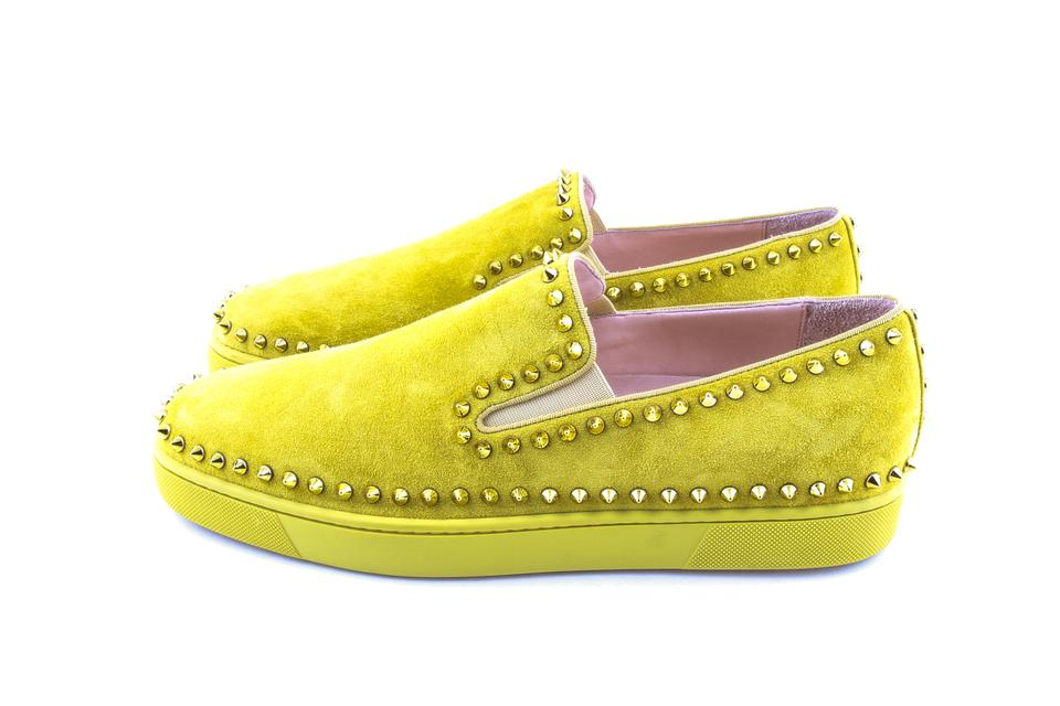 online store 1a8f2 ef7d8 Yellow Pik Boat Flat Shoes