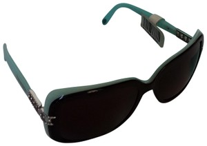 cbde0380847 Classic Tiffany blue   black frames with Swarovski Crystal s.