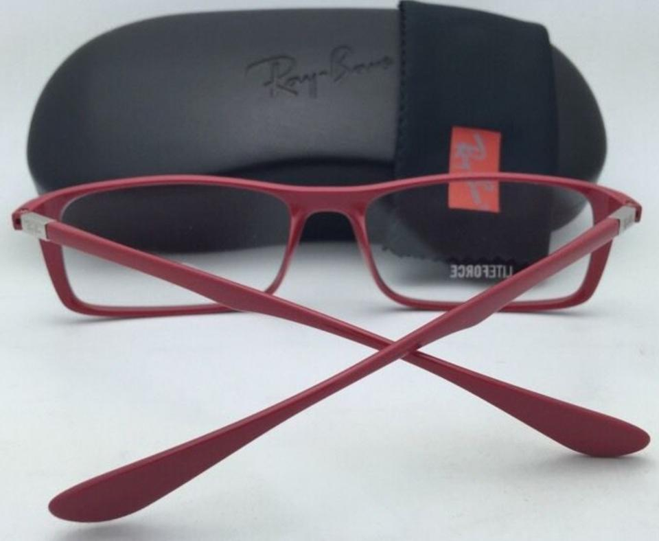 9b6918deea Ray-Ban New Rx-able Liteforce Rb 7035 5435 57-17 Red Frames Sunglasses -  Tradesy