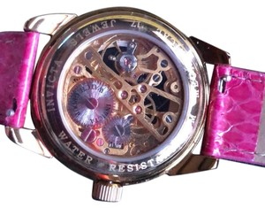 Invicta Pink Open Face Watch