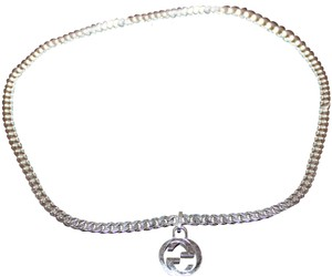 5f09165f2 Gucci Gucci Interlocking G 55 cm Sterlickng Silver Necklace