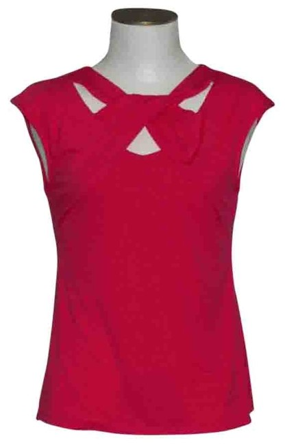 Item - Pink Cut Out Blouse Size 6 (S)
