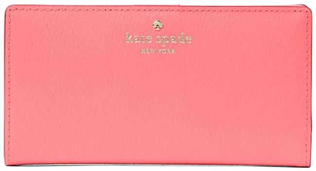 Item - Carolina Coral Grand Street Stacy Leather Continental Wallet