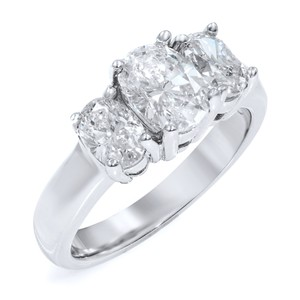 Gavriel's Jewelry Diamond Engagement Ring 14K White Gold 2.00cts SZ6.5