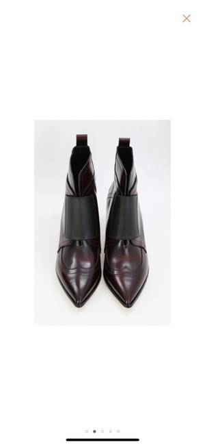 Item - Burgundy Ox Blood Oxford Boots/Booties Size EU 40 (Approx. US 10) Narrow (Aa, N)